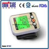 큰 LCD (BP601)를 가진 ISO13485 승인 혈압 모니터