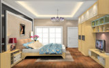 Moderne hölzerne Garderoben-Wandschrank-Schlafzimmer-Möbel (zy-010)