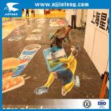 OEM Waarschuwing van de Sticker van de Vloer van pvc de Plastic