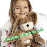세륨 아기 선물 연약한 박제 동물 토끼 견면 벨벳 장난감
