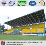 La struttura d'acciaio chiara si è liberata di per lo stadio