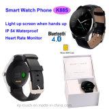 Telefone esperto do relógio de Bluetooth com o monitor da frequência cardíaca (K88S)