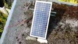 Mono modulo solare 20W per la carica della batteria 12V