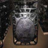 Resistente morrer a tampa de câmara de visita Ductile/molde do ferro com frames