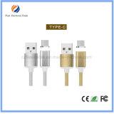USBはCの充電器ケーブルの金属にSamsungのための磁気充満ケーブルをタイプする