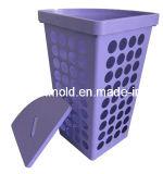 Пластичная высокопрочная квадратная прессформа корзины