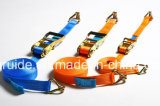 Behälter Strap/Ratchet und Strap/Soft Loop Tie Downs /Tie Down Equipment/Cargo Lashing/Ratchet Tie Down/Ratchet Strap