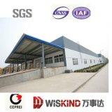 Hangar prefabricado ensamblado fácil del acero del marco del taller de Construcion