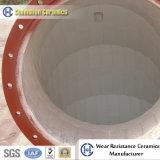 Produits en céramique d'alumine de Chemshun pour l'offre résistante à l'usure de matériel