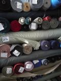 編まれた綿織物のWork-Wearの布