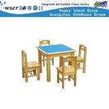 低価格の幼稚園の表および椅子はセットした(HC-2504)