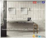 azulejo de suelo gris claro de cerámica de la absorción 1-3% del material de construcción 600X600 (G60507) con ISO9001 y ISO14000