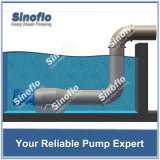 電気軸流れの浸水許容の雨水ポンプ