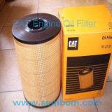 Filtro de aceite de motor de alto rendimiento para Caterpillar excavadora / cargadora / excavadora