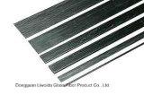 Barre plate de fibre durable de carbone/feuille/bande, bande de fibre de carbone