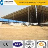 Alto fornitore professionista del fabbricato agricolo della mucca della struttura d'acciaio di Qualtity