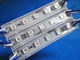 SMD 5050 azul impermeável do módulo de 5 diodos emissores de luz