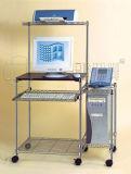 Justierbare Zahnstange des MetallPC/Computer mit Rädern (CJ-B1010)