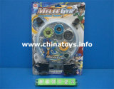 Metal Toy Alloy Musical Flashing Light Top Toy (813727)