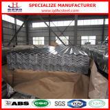 Hoja de acero acanalada del material para techos del calibrador de JIS G3312 28
