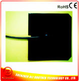 Pad Black Silicone Heaterの600*600*1.5mm 12V 550W Holes