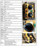 Sistema de controle remoto do rádio longo do guindaste da C.A. 220V da distância do controle