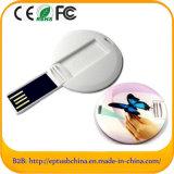 Выдвиженческий подгонянный привод вспышки USB карточки логоса миниый (EC503)