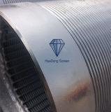 Tela do entalhe de 30/25 de mícron fio contínuo/filtro de vela envolvidos para a indústria alimentar