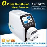 Lab2015 les ABS 0.007-380ml/Min pompe péristaltique de débit