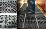 Stuoia antibatterica del pavimento, stuoia di gomma di drenaggio, stuoia della gomma di resistenza di olio