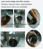 Filtre pour puits de l'eau de fil de cale