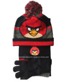 Factory OEM Produce Design personnalisé Cartoon Knitted Acrylic Jacquard Sports Beanie Hat
