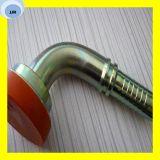 Flange hidráulica 3000 libra por polegada quadrada 87393 do SAE do grau do encaixe de mangueira do bloqueio