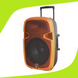 Feiyang Temeisheng Haut-parleur à batterie rechargeable de 15 pouces avec batterie acide au plomb 7.5A Bluetooth F23