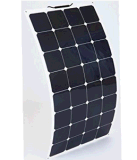 Alta eficiencia de la célula Sunpower Mono Semi 100W panel solar flexible