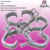 Gancho de leva de abrazadera de aluminio de la luz de la etapa del hierro