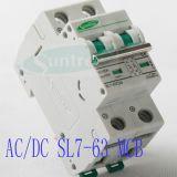 DC1200V DC1000V 6A-63A DC Выключатель Постоянного Тока MCB для Солнечной Переключить Прошла IEC, TUV, ССА, Сертификат CE