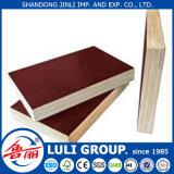 La película al por mayor hizo frente a la madera contrachapada para la construcción de China Luligroup