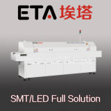 Grote Grootte 10 het Verwarmen de Oven van de Terugvloeiing van de Streek SMT voor het Solderen van de Terugvloeiing van PCB E10