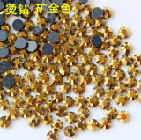 Rhinestone caliente Hotfix cristalino Ss20 (grado del arreglo de DMC del jet del hematites del oro de la plata barata del hematites del HF SS20/3A)