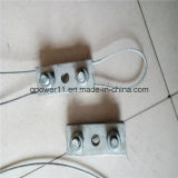 De canalisation aérienne clip de câble métallique de raccords