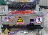 Rendição branca da parede do bloco de China auto que emplastra a máquina