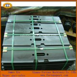 Pièces de rechange de plaque de piste de train d'atterrissage d'excavatrice de JCB Js200LC