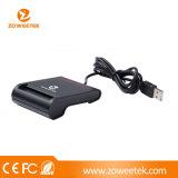 Zoweetek UHF RFID USB 단 하나 스마트 카드 독자 (ATM/ID/IC/CAC/Credit 카드를 위해)