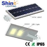 Tudo em uma luz de rua solar do diodo emissor de luz 20W com brilho elevado