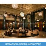 Sofà della sezione comandi dell'ingresso dell'hotel della villa ricoperto tessuto (SY-BS41)