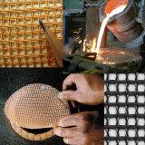 Carburo di silicone del getto della fonderia/allumina/filtro di ceramica gomma piuma di Zirconia