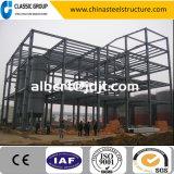 Entrepôt industriel préfabriqué/atelier/hangar/usine de structure métallique d'installation rapide de Quatre-Étage