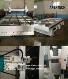 Máquina de estaca de madeira do metal da máquina do torno do CNC da mobília