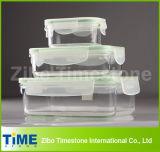 Borosilicat-Glas-Speicher-heißer Nahrungsmittelbehälter (14110105)